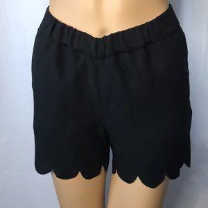Madeline Black Shorts Sz:XXS